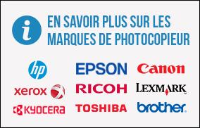 En savoir plus sur les marques de photocopieur.